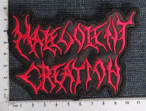 MALEVOLENTE CREATION - LOGO EMBROIDERED PATCH