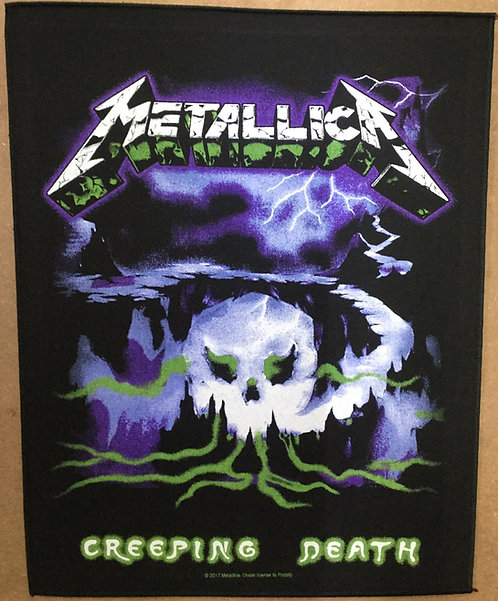 METALLICA - Creeping Back Patch
