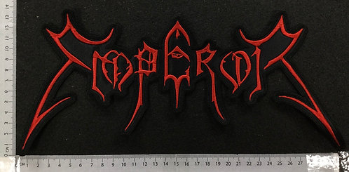 EMPEROR -  LOGO EMBROIDERED BACK PATCH
