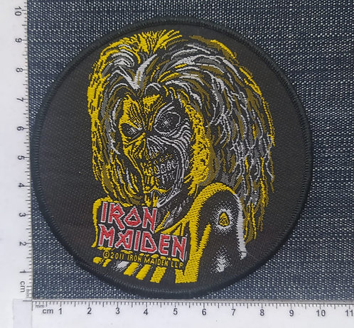 IRON MAIDEN -  EDDIE FACE KILLERS WOVEN PATCH