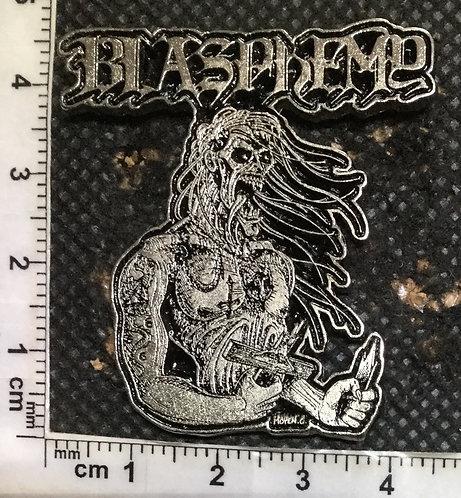 BLASPHEMY DEMON - Metal pin