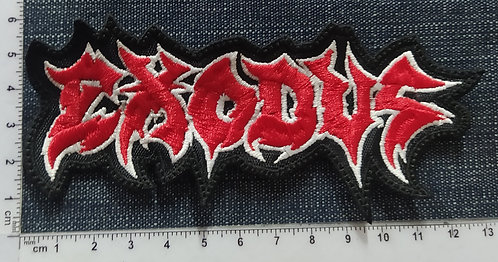 EXODUS - LOGO EMBROIDERED PATCH