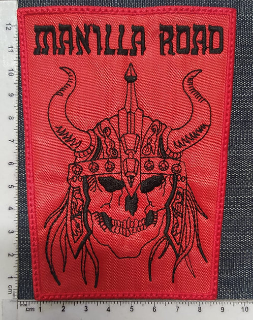 MANILLA ROAD - VIKING RECTANGLE EMBROIDERED PATCH