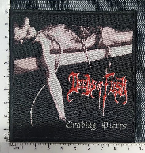DEEDS OF FLESH - TRADING PIECES WOVEN PATCH