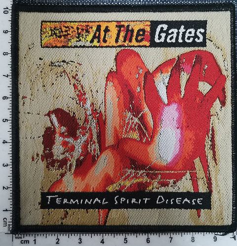 AT THE GATES - Terminal Spirit Disease Woven Patch