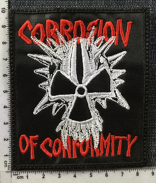 CORROSION OF CONFORMITY - EMBROIDERED PATCH