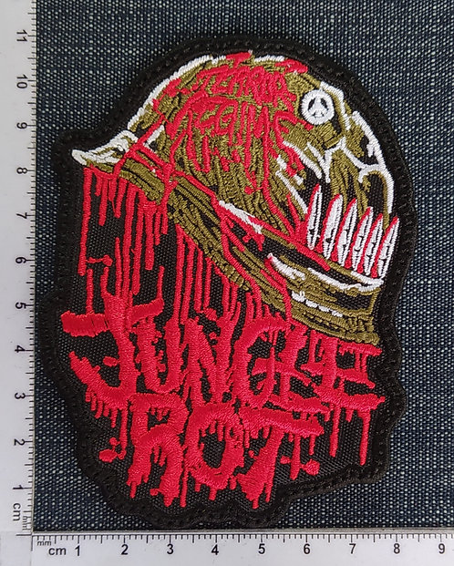 JUNGLE ROT - TERROR... EMBROIDERED PATCH
