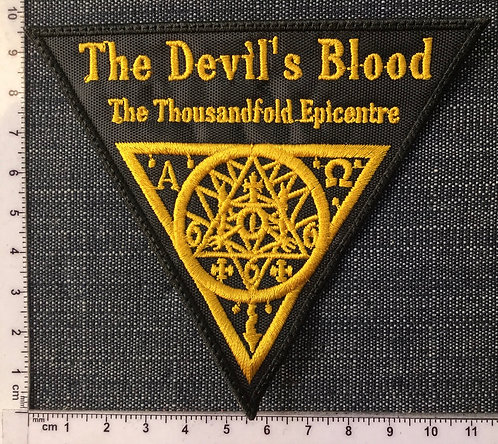 THE DEVIL'S BLOOD - THE THOUSANDFOLD... EMBROIDERED PATCH