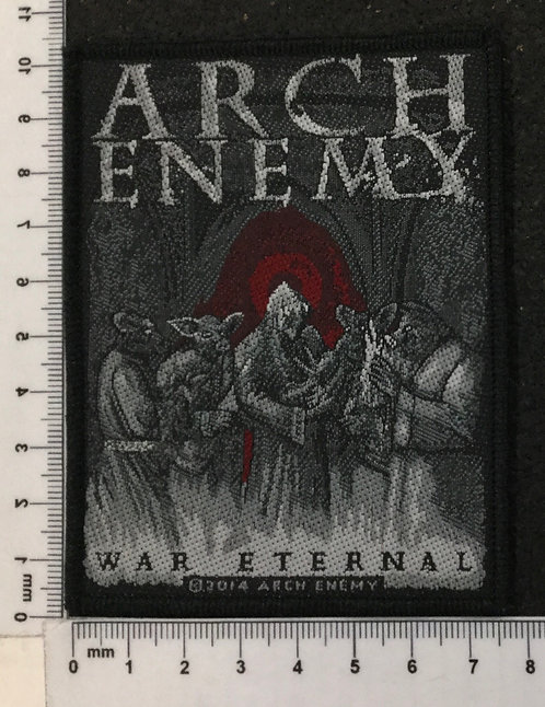 ARCH ENEMY - WAR ETERNAL WOVEN PATCH