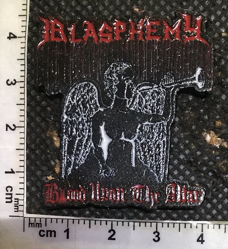 BLASPHEMY BLOOD UPON... - Metal pin