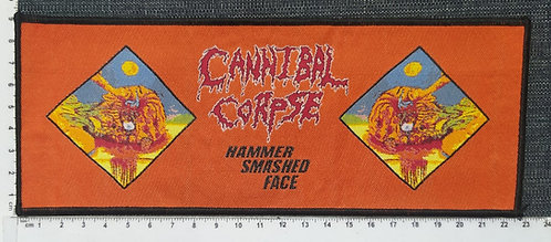 CANNIBAL CORPSE - Hammer Smashed Face Woven Patch