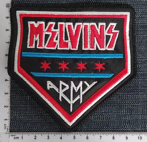 MELVINS - ARMY EMBROIDERED PATCH