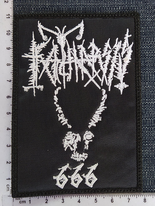 KATHARSIS - DEMON 666 EMBROIDERED PATCH