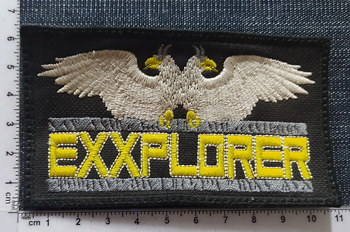 EXXPLORER -  LOGO EMBROIDERED PATCH