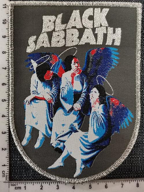 BLACK SABBATH - Hell & Heaven Woven Patch