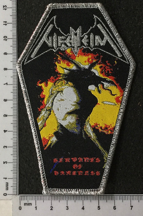 NIFELHEIM - SERVANTS OF DARKNESS WOVEN PATCH