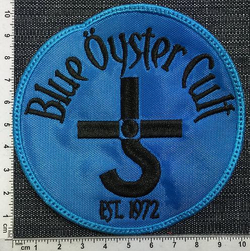 BLUE ÖYSTER CULTT - CIRCLE PATCH