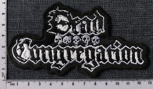 DEAD CONGREGATION - SHAPED EMBROIDERED PATCH