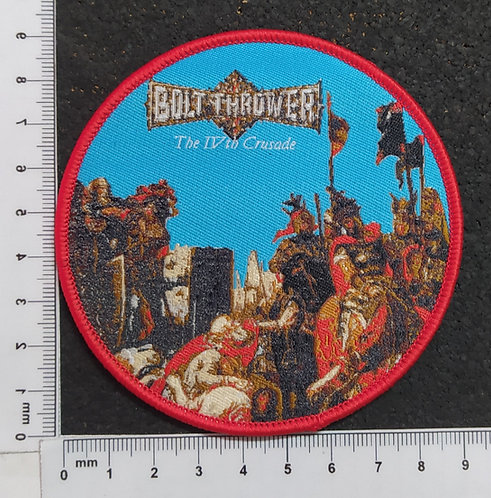 BOLT THROWER - THE IV.TH CRUSADE WOVEN PATCH