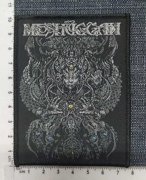 MESHUGGAH - MUSICAL DEVIANCE WOVEN PATCH