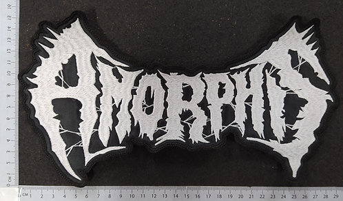 AMORPHIS - EMBROIDERED LOGO BACK PATCH