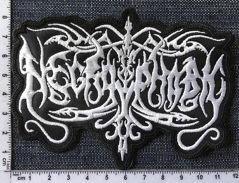 NECROPHOBIC - LOGO EMBROIDERED PATCH