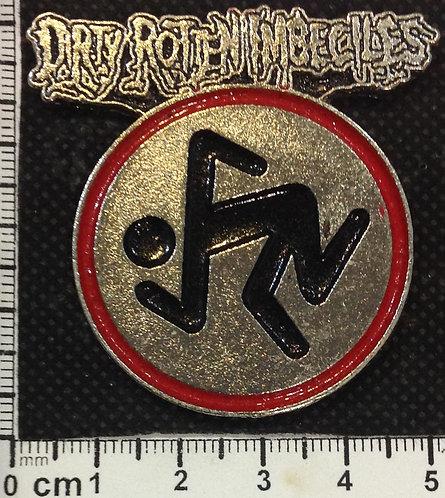 D.R.I.  - LOGO Metal Pin