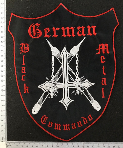 NARGAROTH - GERMAN EMBROIDERED BACK PATCH