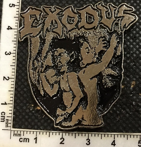 EXODUS - BONDED BY BLOOD Metal pin