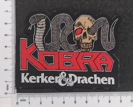 KOBRA -KERKER & DRACHEN WOVEN PATCH