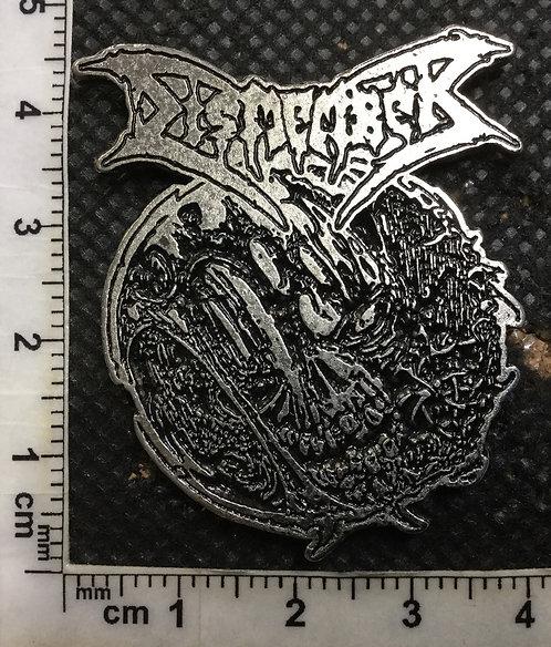 DISMEMBER - SKULL Metal pin