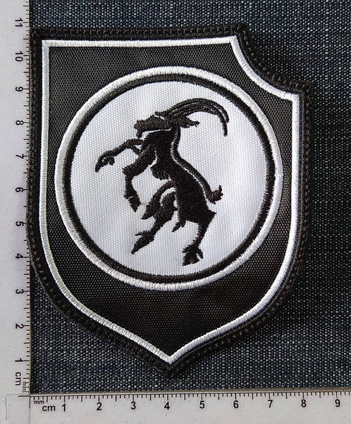 GOATMOON - SHIELD EMBROIDERED PATCH