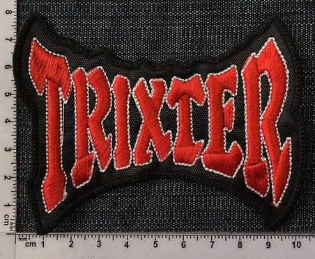 TRIXTER - LOGO EMBROIDERED PATCH
