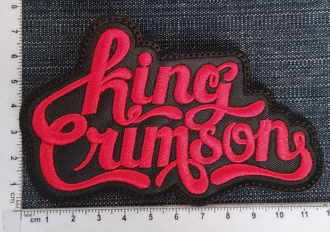 KING CRIMSON - LOGO EMBROIDERED PATCH