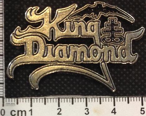 KING DIAMOND  - LOGO Metal Pin