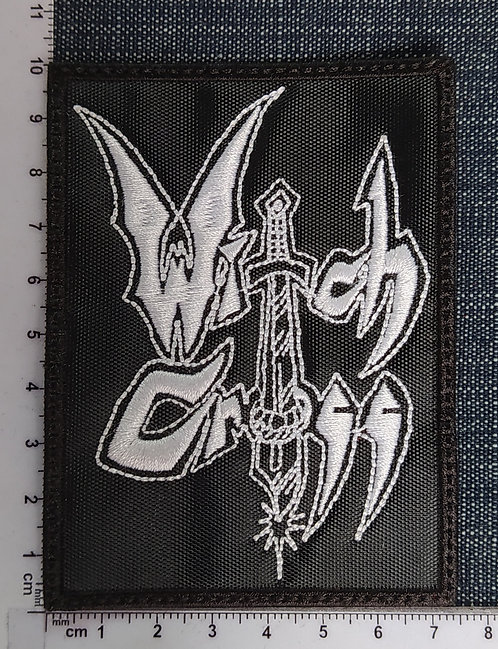 WITCH CROSS - LOGO EMBROIDERED PATCH