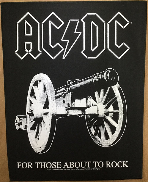 AC/DC - For Those About to Rock Back Patch