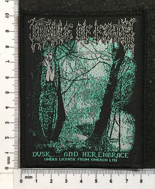 CRADLE OF FILTH -DUSK... AND HER EDIBRACE WOVEN PATCH