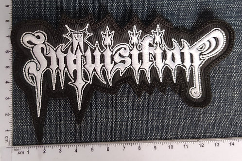 INQUISITION - LOGO EMBROIDERED PATCH