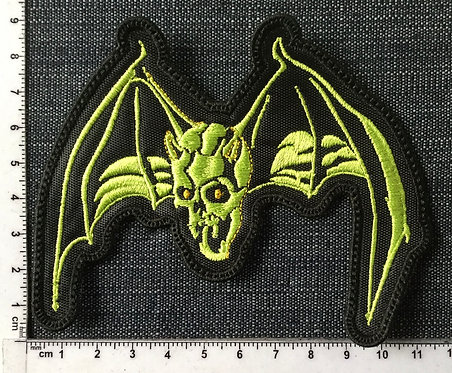 OVER KILL - BAT EMBROIDERED PATCH