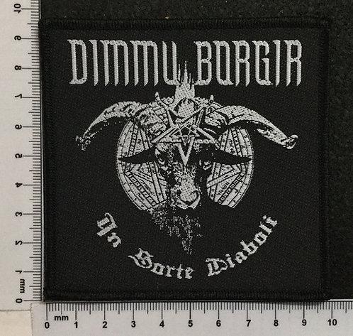 DIMMU BORGIR - IN SORTE DIABOLI WOVEN PATCH