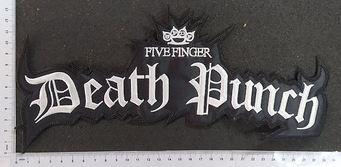 FIVE FINGER DEATH PUNCH - LOGO EMBROIDERED BACKPATCH