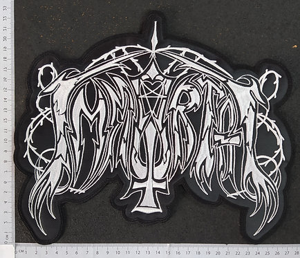 IMMORTAL - OLD LOGO EMBROIDERED BACK PATCH