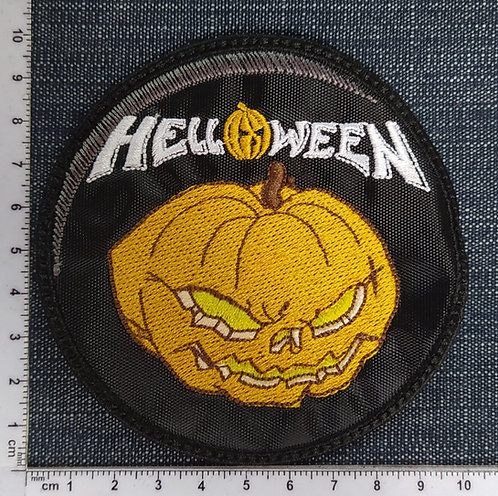 HELLOWEEN - CIRCLE  EMBROIDERED PATCH