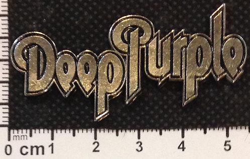 DEEP PURPLE - LOGO   Metal Pin