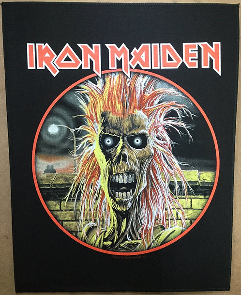 IRON MAIDEN - Iron Maiden Back Patch
