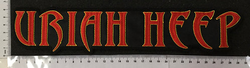 URIAH HEEP - LOGO EMBROIDERED BACK PATCH