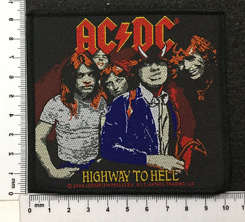 AC/DC - HIGHWAY TO HELL WOVEN PATCH