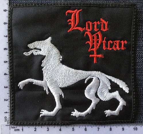 LORD VICAR - LOGO EMBROIDERED PATCH