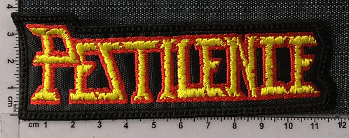 PESTILENCE - LOGO EMBROIDERED PATCH